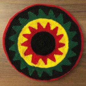 Crochet Beret Hat Jamaica